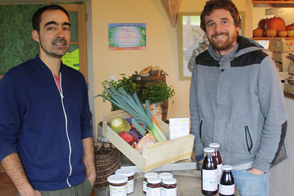 Aux Potagers de Beauregard - Raphaël Perrolaz et Eric Villate