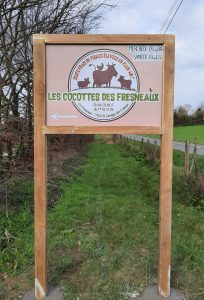 Panneau Les cocottes des Fresneaux
